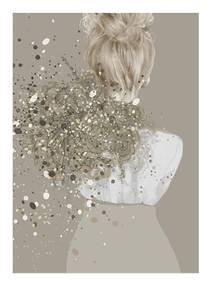Bilde av Kunsttrykk Isabell 50x70 - Anna Bülow