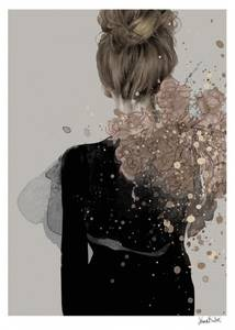 Bilde av Kunsttrykk Helene 30x40 - Anna Bülow