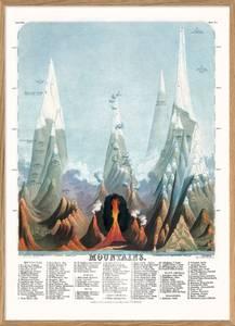 Bilde av Bilde Mountains 30x40 innrammet