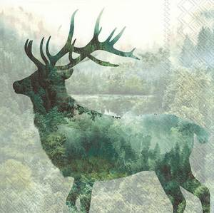 Bilde av Servietter lunsj Magic Deer