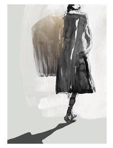 Bilde av Kunsttrykk Light Chaser 30x40 - Anna Bülow
